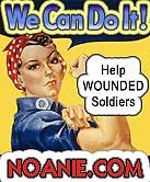 Help United States wounded soldiers now at Noanie.com